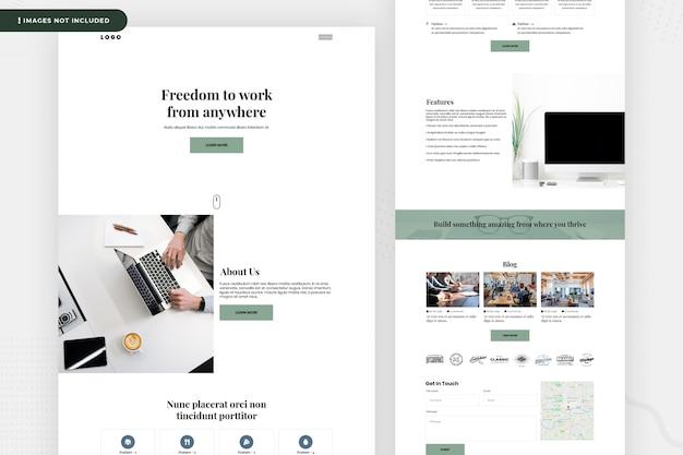 Página do site freelancer