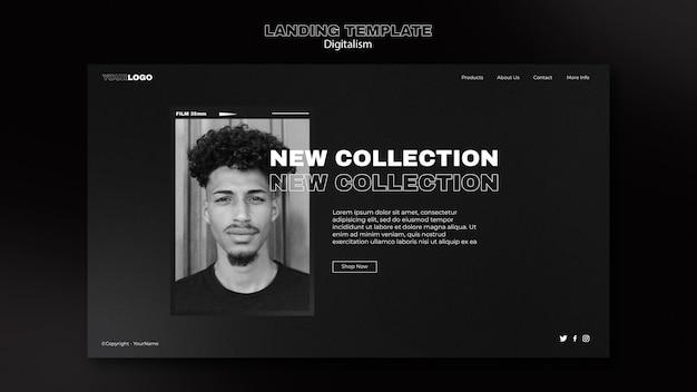 Página inicial de compras digitais