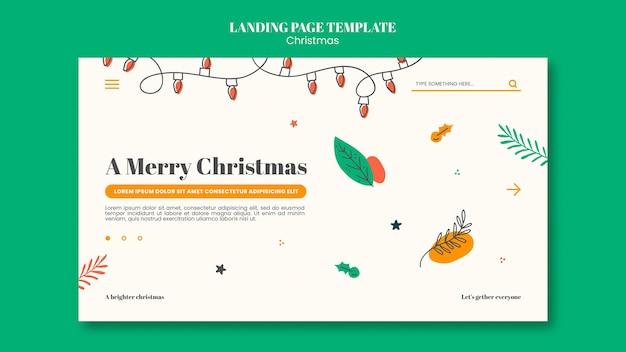 Página inicial para o natal