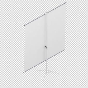 Painel isométrico