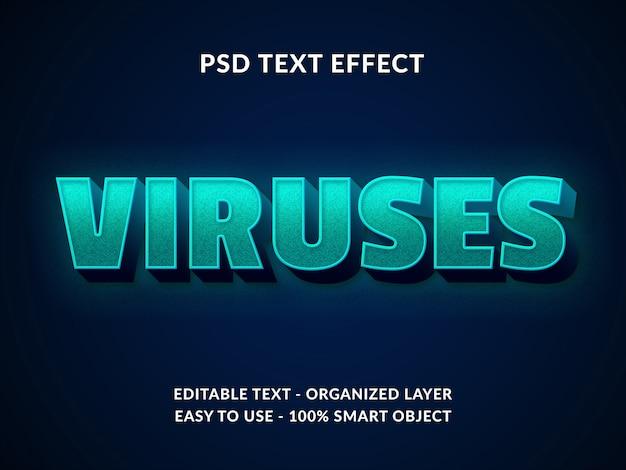 Pandemia corona virus covid19 texto estilo efeito 3d