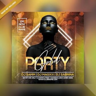 Panfleto dj party