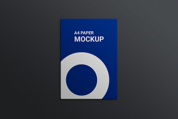 Papel timbrado com maquete de cartão de visita premium psd
