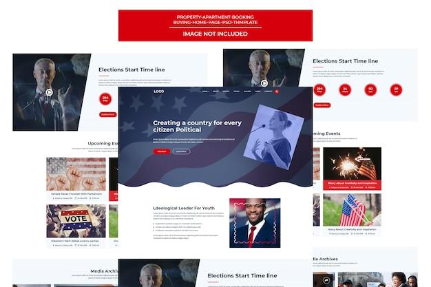 Partido político, candidato e base