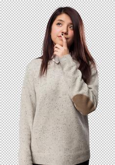 Pensamento chinês-mulher legal