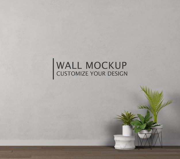 Personalização do design da parede