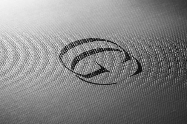 Perspectiva do papel do modelo do logotipo