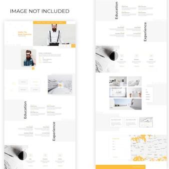 Pessoal-portfólio-web-modelo