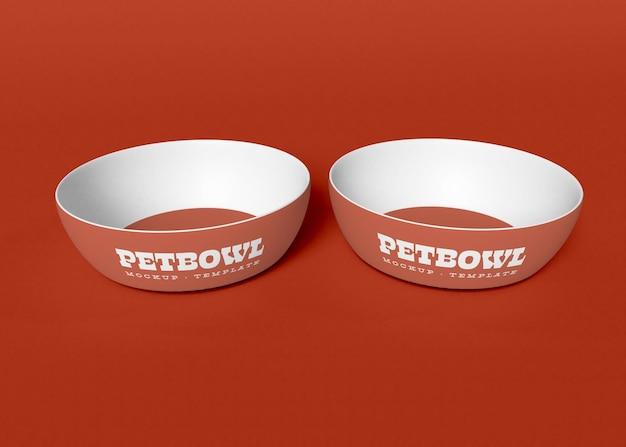 Pet bowls mocku