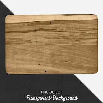 Placa de corte de madeira transparente