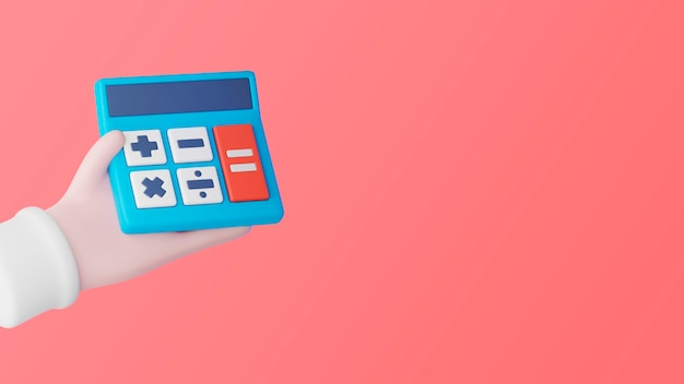 Plano de fundo de marketing empresarial 3d