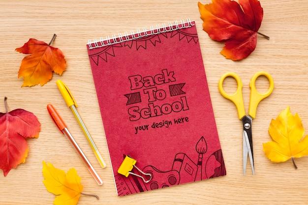 Plano de volta ao modelo de arranjo da escola