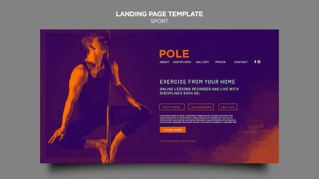 Pole class landing page