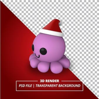 Polvo 3d renderizado em fundo transparente