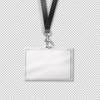 Portador de cartão isolado para carteira de identidade