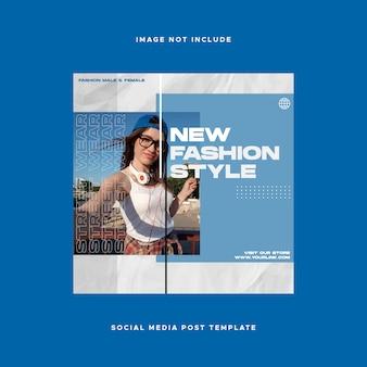 Postagem sobre design de mídia social no instagram