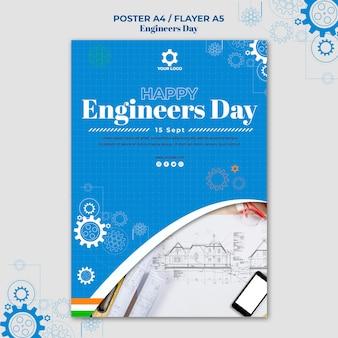 Pôster do dia dos engenheiros