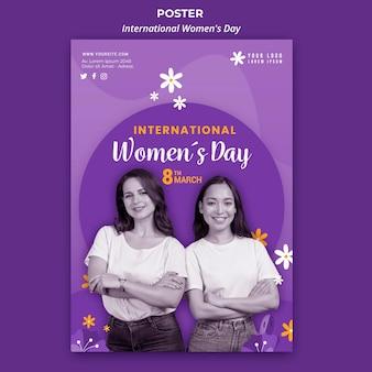Pôster do dia internacional da mulher