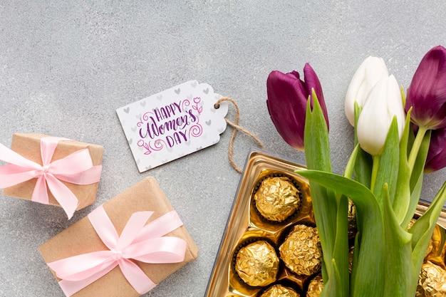 Presentes para a celebração do dia das mulheres