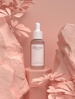 Produtos premium cosméticos hidratantes para cuidados com a pele