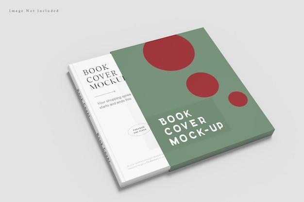 Projeto da capa do livro isolado