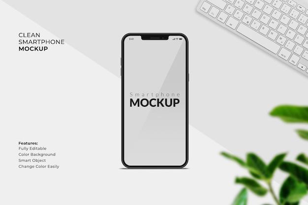 Projeto da maquete da tela do celular