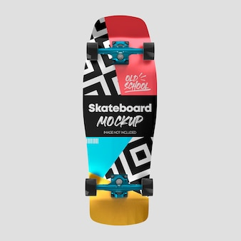Projeto da maquete da velha escola de skate 3d
