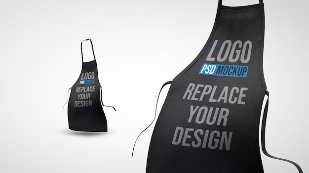 Projeto da maquete de renderização 3d do avental