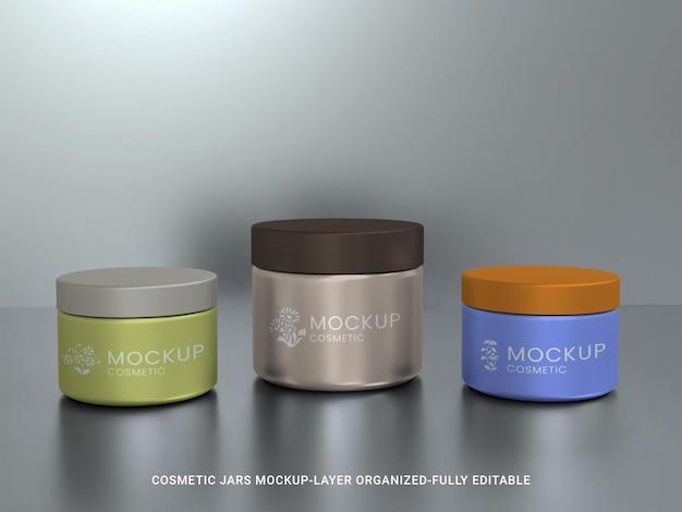 Projeto da maquete do frasco cosmético