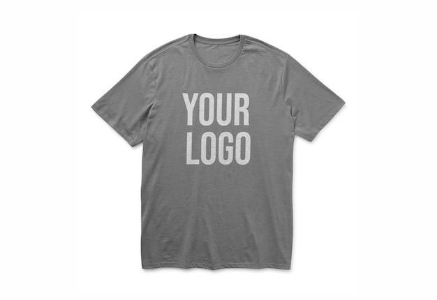 Projeto da maquete do logotipo da camiseta isolado
