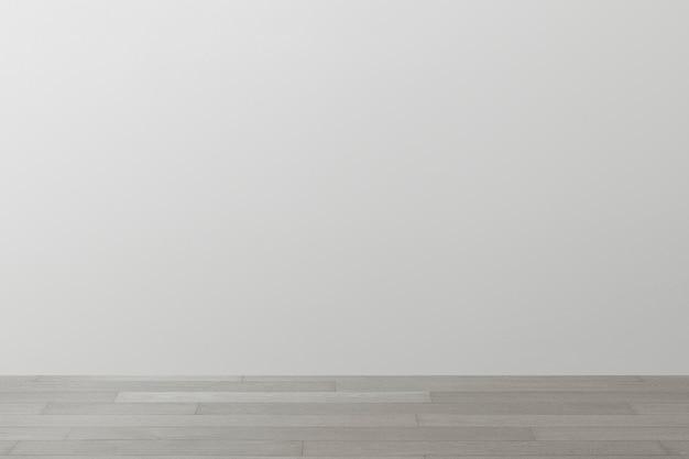 Projeto de interior psd de maquete de parede cinza da sala