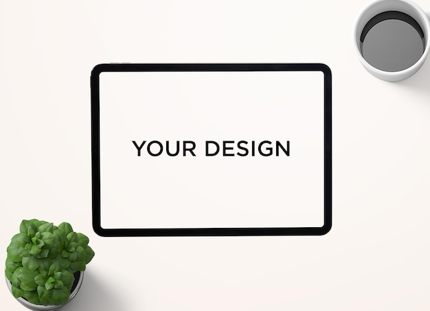 Projeto de maquete de dispositivo digital