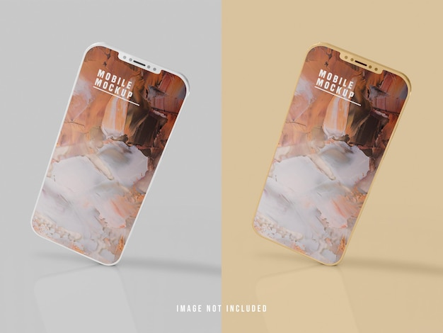 Projeto de maquete para celular psd