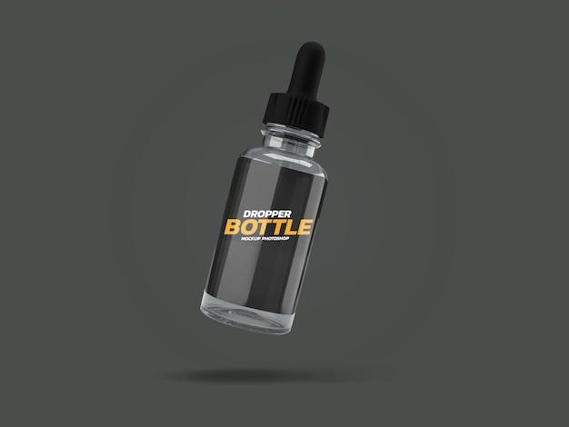 Projeto de renderização 3d de frasco conta-gotas
