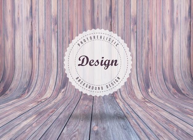 Projeto do fundo realista woodboard