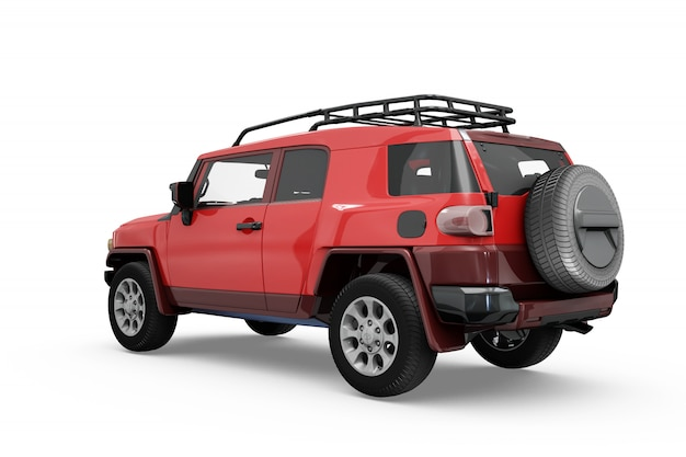 Projeto isolado do carro mock-up