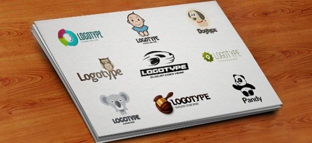 Projeto negócios logotipo modelo psd