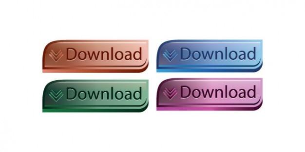 Projeto quatro botões de download