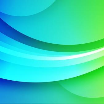 Projeto verde abstrato do fundo