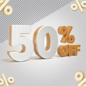 Promoção 3d oferta de 50 por cento