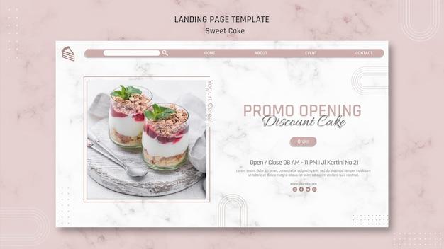 Promoção de abertura compre um ganhe uma página de destino
