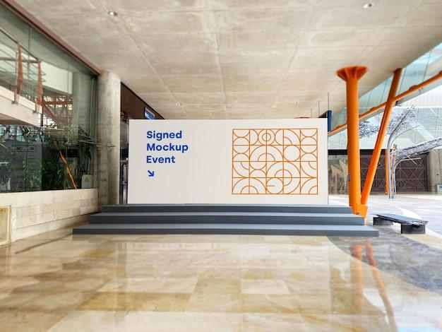 Promoção de evento de maquete