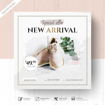 Promoção de moda nova chegada elegante
