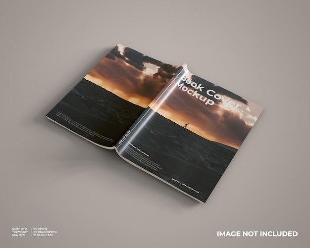 Pronto para usar a maquete da capa do livro