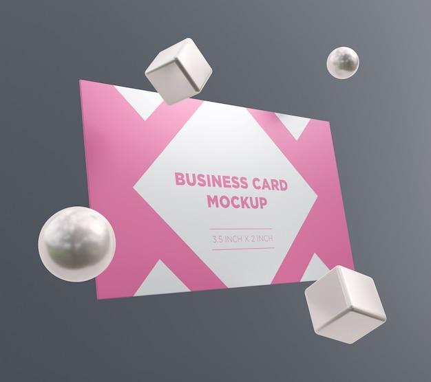 Pronto para usar maquete de cartão de visita