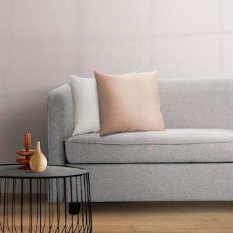Psd interior de sala de estar moderna