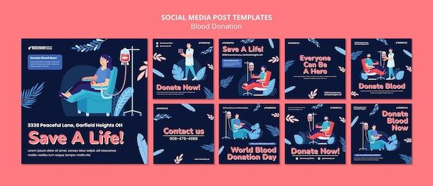 Publicação nas redes sociais para salvar uma vida