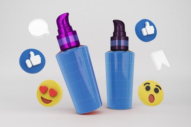 Pump social media Psd Premium