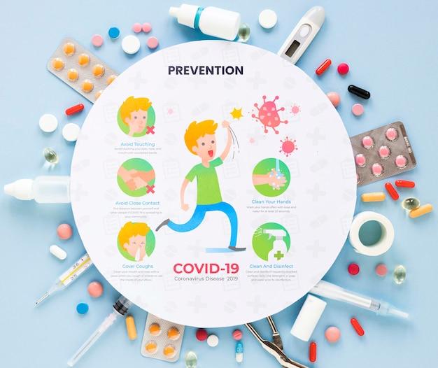Quadro com pílulas