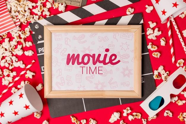 Quadro com tempo de cinema